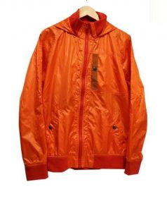 AVIREX(アヴィレックス)の古着「ナイロンジャケット」 オレンジ