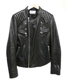 ZADIG&VOLTAIRE(ザディグ エ ヴォルテール)の古着「レザージャケット」 ブラック