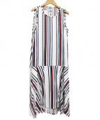 BAUM UND PFERDGARTEN(ウムウンドヘルガーデン)の古着「ノースリーブワンピース」|ホワイト