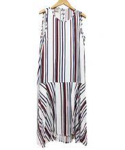 BAUM UND PFERDGARTEN(ウムウンドヘルガーデン)の古着「ノースリーブワンピース」 ホワイト