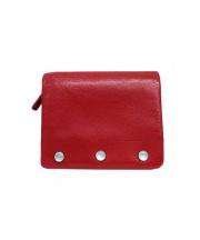agnes b(アニエスベー)の古着「2つ折り財布」 レッド×ネイビー