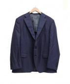 STUDIO by DURBAN(スタジオバイダーバン)の古着「シルク混スーツ」|ネイビー