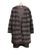 HANAE MORI(ハナエモリ)の古着「3点セットアップスーツ」 ブラウン