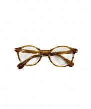 piau piau(ピュピュ)の古着「伊達眼鏡」|ベージュ