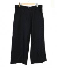 Y's(ワイズ)の古着「ウールワイドパンツ」|ブラック