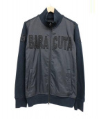 BARACUTA(バラクータ)の古着「ロゴジップアップジャケット」|ブラック