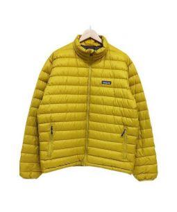 Patagonia(パタゴニア)の古着「ダウンジャケット」|イエロー