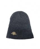 HTC(エイチティーシー)の古着「ニット帽」|グレー