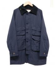 BEAMS BOY(ビームスボーイ)の古着「ツイルハンティングジャケット」|ネイビー