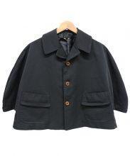 COMME des GARCONS COMME des GARCONS(コムデギャルソン コムデギャルソン)の古着「ショートジャケット」|ブラック