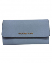 MICHAEL KORS(マイケル コース)の古着「長財布」|ブルー