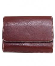 STEFANOMANO(ステファノマーノ)の古着「2つ折り財布」|レッド