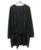 Edwina Horl(エドウィナホール)の古着「Palm maison original coat」|ブラック