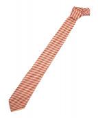 CHANEL(シャネル)の古着「ネクタイ」|レッド×ベージュ