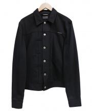Nudie Jeans(ヌーディー ジーンズ)の古着「ドライブラックデニムジャケット」|ブラック