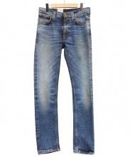 NUDIE JEANS(ヌーディジーンズ)の古着「デニムパンツ」|ブルー