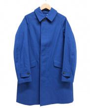 ORCIVAL(オーチバル)の古着「ステンカラーコート」|ブルー