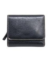 STEFANOMANO(ステファノマーノ)の古着「3つ折り財布」 ブラック