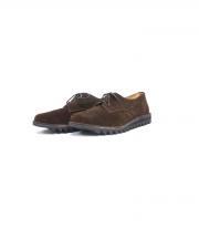 Suffolk Shoes(サフォークシューズ)の古着「スウェードシューズ」|ブラウン