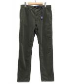 THE NORTHFACE PURPLELABEL(ザ・ノースフェイス パープルレーベル)の古着「Corduroy Webbing Belt Pants」