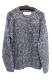 oldderby Knitwear(オールドダービーニットウェア)の古着「モヘヤウールニット」