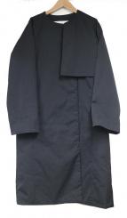 PLAIN PEOPLE(プレインピープル)の古着「ノーカラーダウンコート」