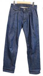 KRIS VAN ASSCHE(クリスヴァンアッシュ)の古着「2タックデニムパンツ」