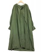 GOUT COMMUN(グーコミューン)の古着「前開きブラウスワンピース」