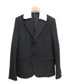 PRADA(プラダ)の古着「ダブル襟テーラードジャケット」