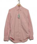 GITMAN BROS(ギットマンブラザーズ)の古着「ボタンダウンシャツ」 ピンク