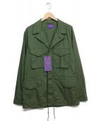 YARDAGE by MARVY JAMOKE(ヤーデージバイマービージャモーク)の古着「M43ジャケット」|オリーブ