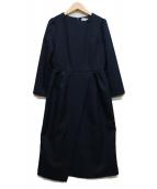 CELFORD(セルフォード)の古着「ブラウスワンピース」|ネイビー