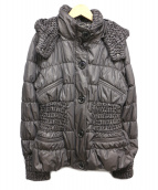 伊太利屋(イタリヤ)の古着「中綿ジャケット」 グレー