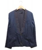 DIESEL BLACK GOLD(ディーゼルブラックゴールド)の古着「セットアップスーツ」 ネイビー