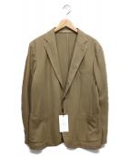 UNITED ARROWS TOKYO(ユナイテッドアローズ)の古着「ハニカムジャージ3Bジャケット」|ベージュ