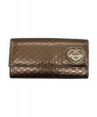 GUCCI(グッチ)の古着「2つ折り長財布」|ブロンズ