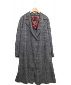COUP DE CHANCE(クードシャンス)の古着「ロングコート」|グレー
