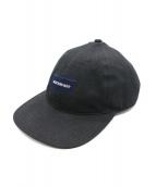 DESCENDANT(ディセンダント)の古着「BOX MIAMI CAP」|ブラック