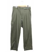 Y-3(ワイスリー)の古着「BAG PANTS」|オリーブ