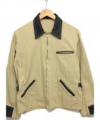 CUSHMAN(クッシュマン)の古着「ヘリンボンエンジニアジャケット」|ベージュ