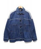BASISBROEK(バーシスブルック)の古着「デニムジャケット」|インディゴ
