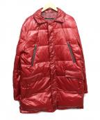 INTERMEZZO(インターメッツォ)の古着「ダウンコート」|レッド
