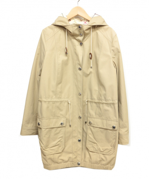 COACH(コーチ)COACH (コーチ) フーデッドコート ベージュ サイズ:Sの古着・服飾アイテム