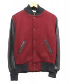 SKOOKUM(スクーカム)の古着「アワードジャケット」|ボルドー×ブラック