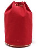 HERMES(エルメス)の古着「巾着バッグ」|レッド