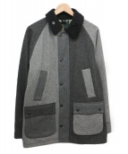 Barbour(バブアー)の古着「BEDALE SL WOOL BONDED」 グレー