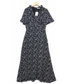 MARIHA(マリハ)の古着「夏のパリジェンヌのドレス」 ネイビー