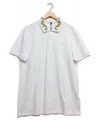 VERSACE(ヴェルサーチ)の古着「エンブロイダリーカラーポロシャツ」|ホワイト