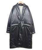 MUZE(ミューズ)の古着「中綿コート」|ブラック