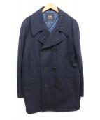 VAN(ハン)の古着「Pコート」|ネイビー